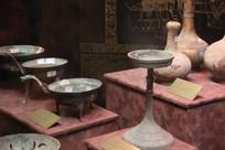 汉景帝陵各种青铜随葬品