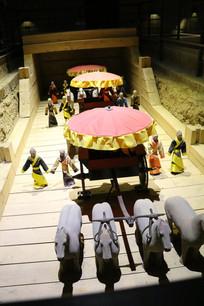 汉景帝陵天子驾仪仗俑