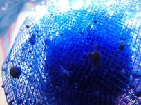 蓝色网纹背景素材