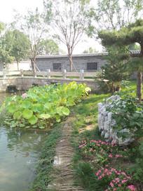 老北京打么厂三里河一景