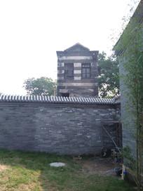 老北京居民平房