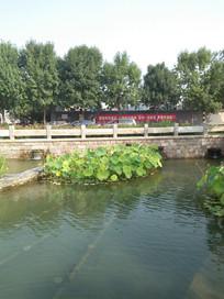 老北京前门三里河街景一角