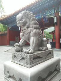 老北京石狮子