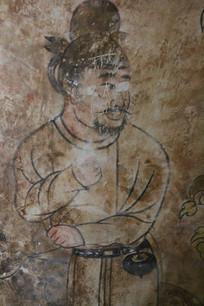 太子墓地宫壁画