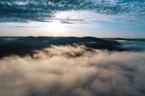 云雾山林风景