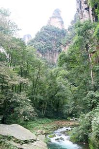 大峡谷小溪小河