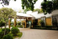 广州流花湖公园蒲林酒吧