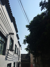 桂林灵川大圩古镇古房子