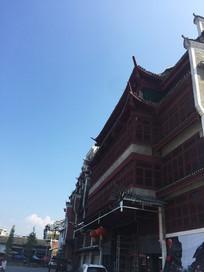 桂林灵川大圩古镇古建筑