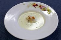 奶油虾仁汤