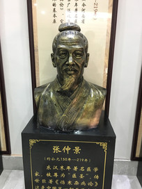 张仲景铜像