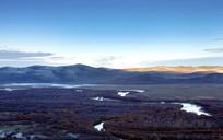 额尔古纳湿地蓝天
