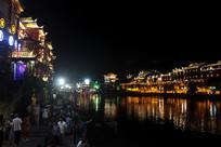 凤凰城江水夜景