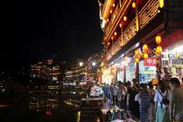 凤凰古城夜市