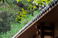 古建筑房屋檐