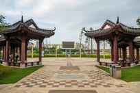 红楼滩公园广场