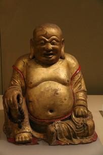 弥勒小佛鎏金像