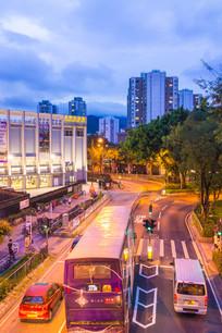 香港北区大会堂前道路