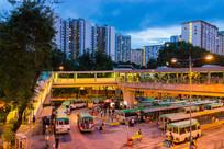 香港上水巴士站