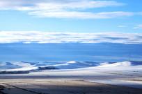 额尔古纳湿地初冬稻田