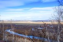 额尔古纳湿地风光