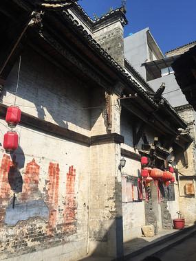 桂林大圩古镇古围墙