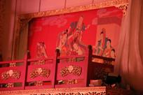 唐宫乐舞舞台背景