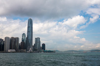 香港中环城市风光