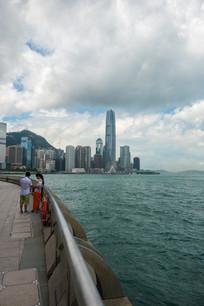 香港中环海滨风光