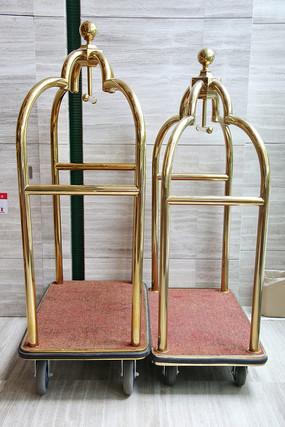 宾馆行李箱小车