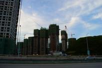 建设中的新高楼