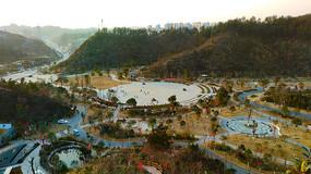 四方山植物园休闲广场