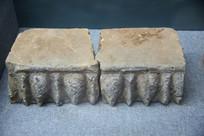 唐代莲花纹砖
