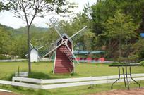庄园荷兰小风车