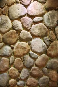 不规则石头背景墙