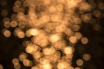 湖水霞光光斑素材