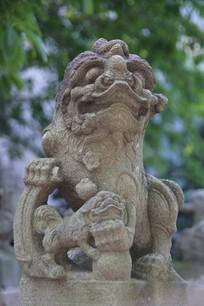 明代小狮子雕像