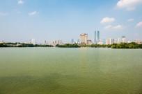 晴天的惠州西湖