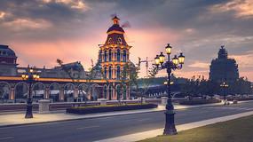 海澜马场建筑摄影