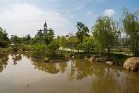 惠州鹿江公园景色