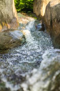 惠州西湖的小溪流