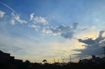 蓝天云彩风景图片