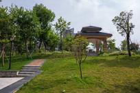 鹿江公园的小亭