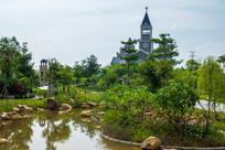 美丽的惠州鹿江公园