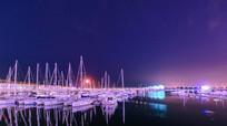 青岛奥帆中心夜景