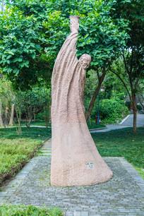苏东坡举杯雕塑