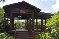 五象湖公园对歌楼