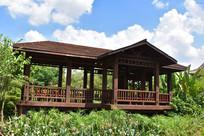 五象湖公园休闲凉亭