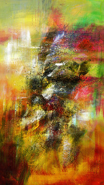 玄关壁画 抽象画