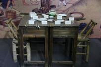古代制瓷器描绘工具